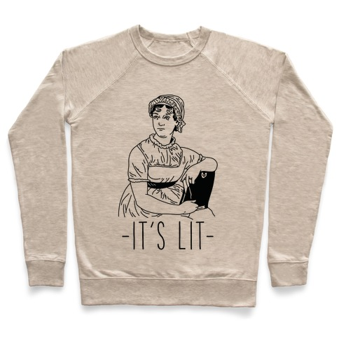 It's Lit Jane Austen Pullover