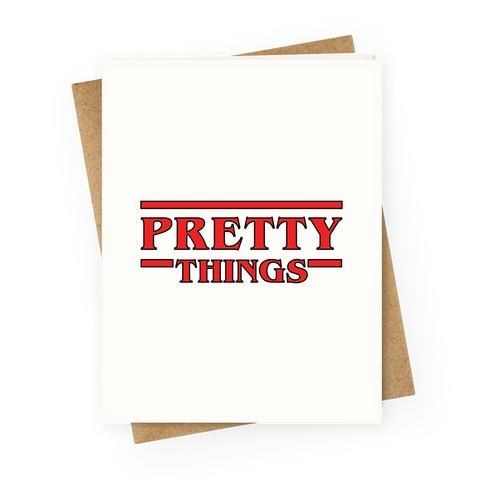 Pretty Things Greeting Card