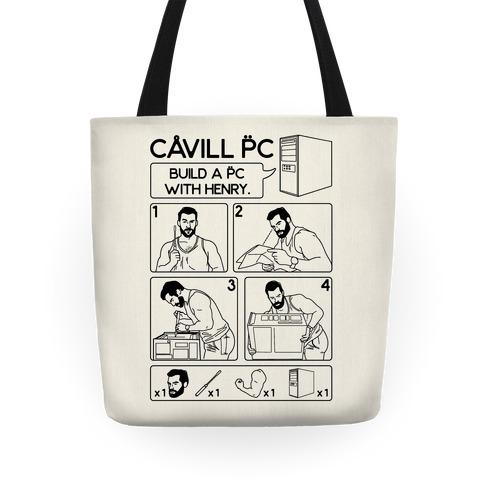Cavill PC Parody Tote
