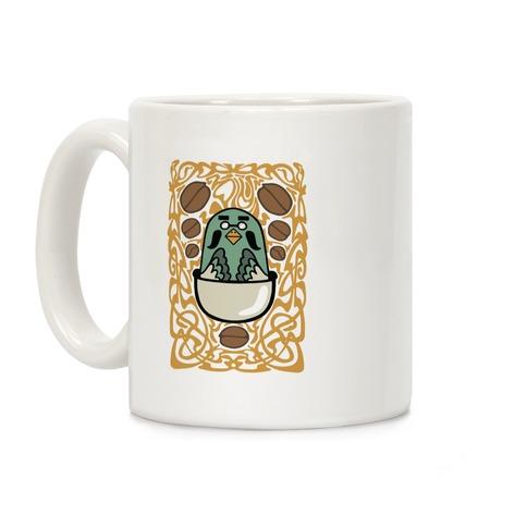 Art Nouveaux Coffee Pigeon Coffee Mug