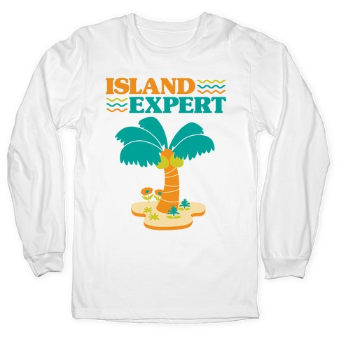 Island Expert (Animal Crossing) Long Sleeve T-Shirt