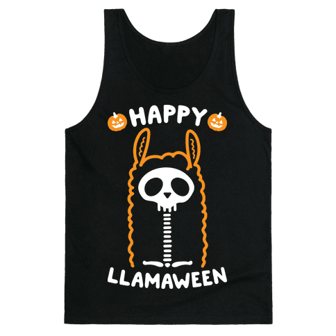 Happy Llamaween Tank Top