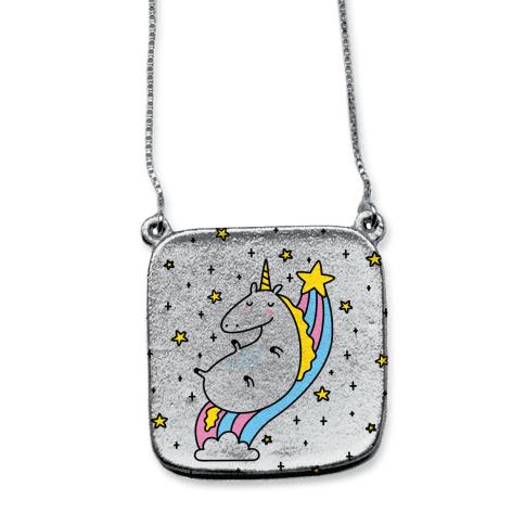Unicorn On Rainbow