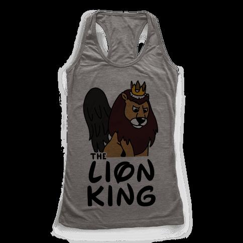 The Lion King Moonracer Racerback Tank Top