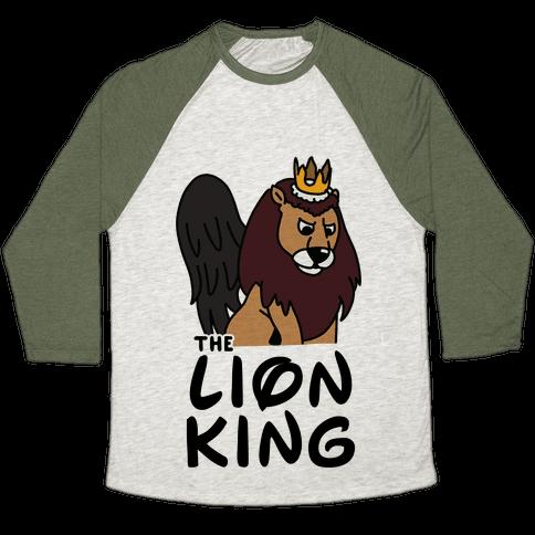 The Lion King Moonracer Baseball Tee