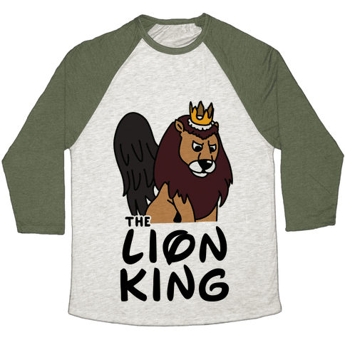 The Lion King Moonracer Baseball Tee