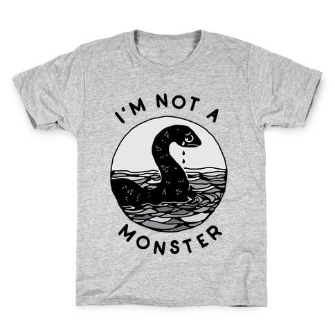 I'm Not a Monster (Nessy) Kids T-Shirt