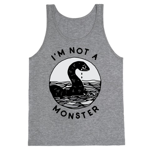 I'm Not a Monster (Nessy) Tank Top
