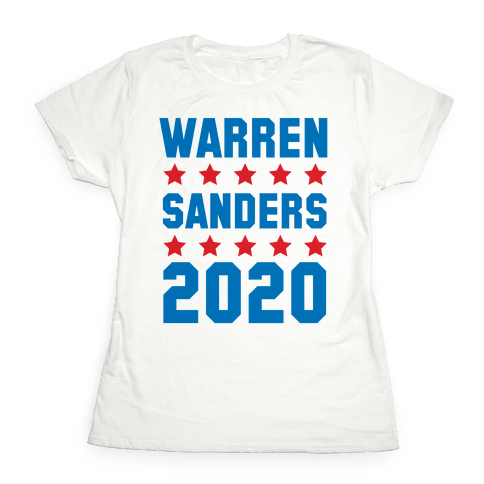 Warren Sanders 2020 Womens T-Shirt