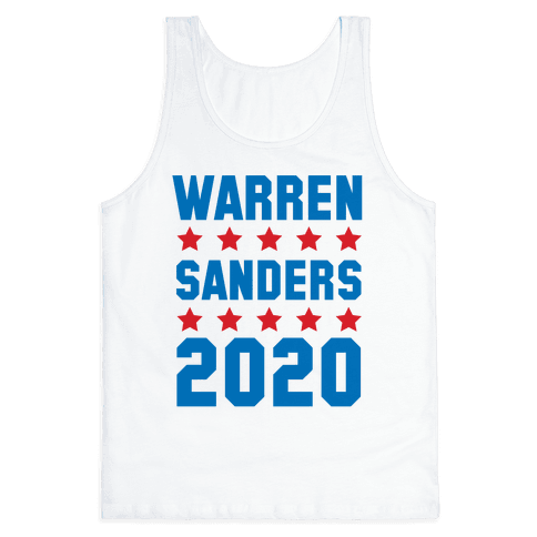 Warren Sanders 2020 Tank Top