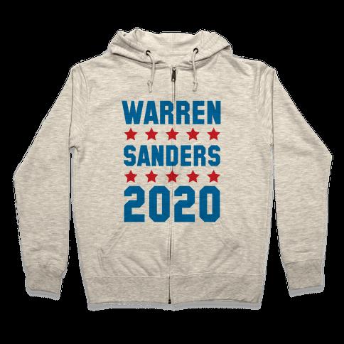 Warren Sanders 2020 Zip Hoodie