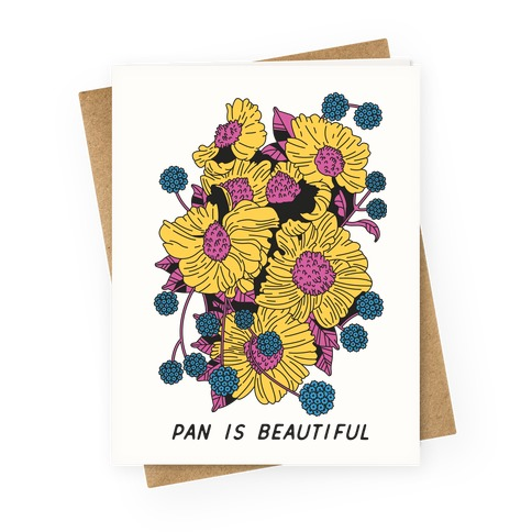 Pan is beautiful Greeting Card