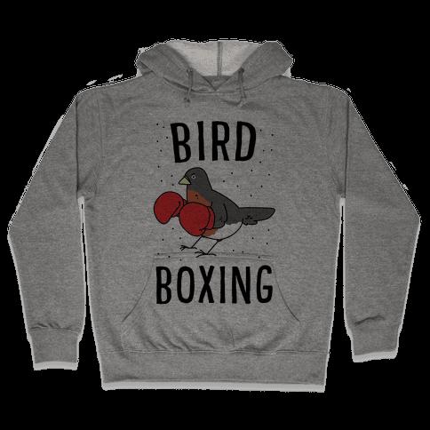 Bird Boxing Hooded Sweatshirt