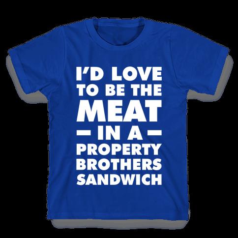 Property Brothers Sandwich Kids T-Shirt
