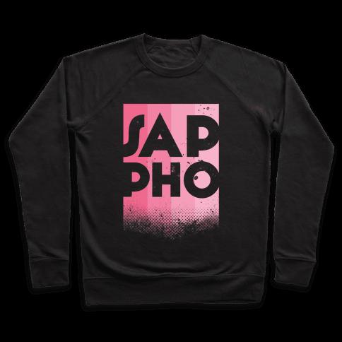 Vintage Sappho Pink Pullover