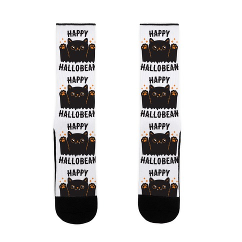 Happy Hallobean Sock
