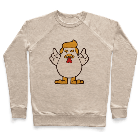 Kawaii Trump Chicken Pullover