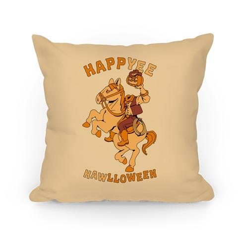 HappYEE HAWlloween Headless Cowboy Pillow