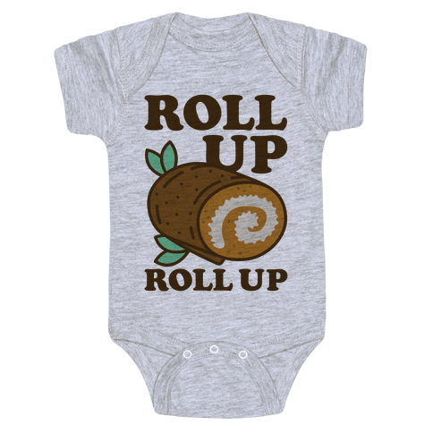 Roll Up Roll Up Baby Onesy