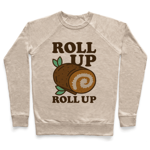 Roll Up Roll Up Pullover