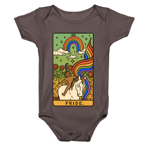 Pride Tarot Baby One-Piece