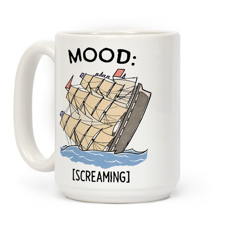 Stuck On A Sinking Ship Coffee Mug