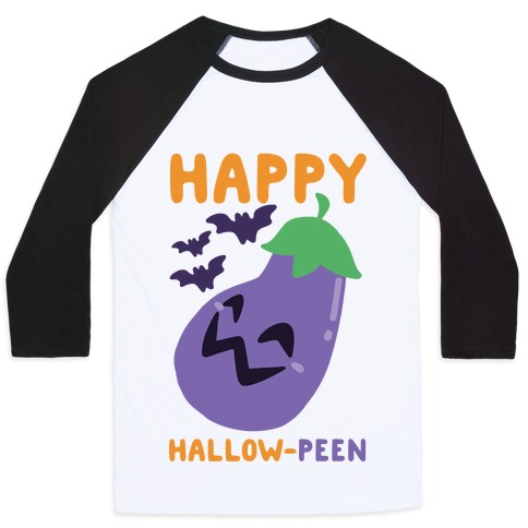 Happy Hallow-Peen Baseball Tee