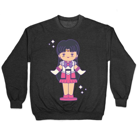 Sailor Mars Pocket Parody Pullover
