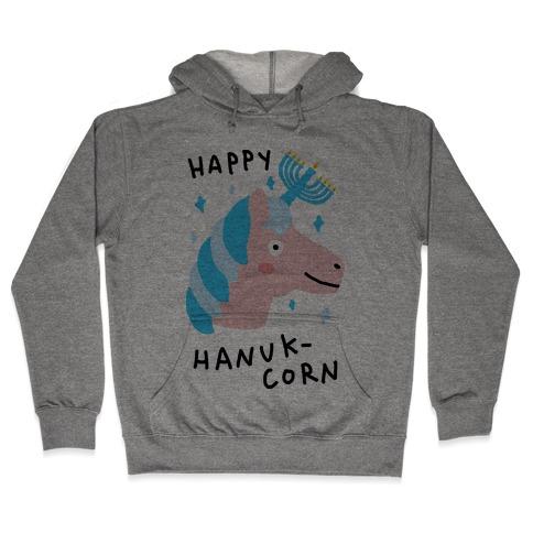 Happy Hanuk-Corn Unicorn Hooded Sweatshirt