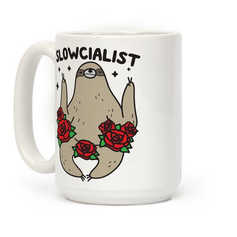 Slowcialist - Socialist Sloth Coffee Mug