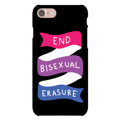 End Bisexual Erasure Phone Case
