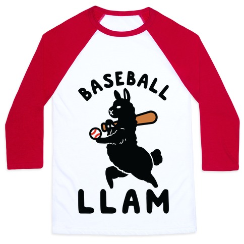 Baseball Llam Baseball Tee