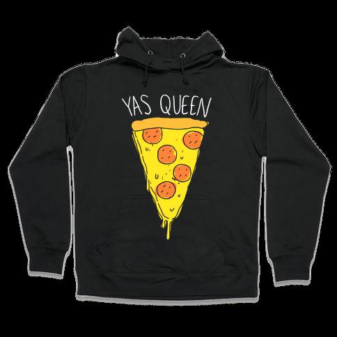 Yas Queen Pizza Hooded Sweatshirt
