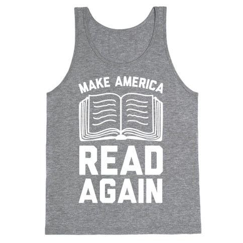 Make America Read Again Tank Top