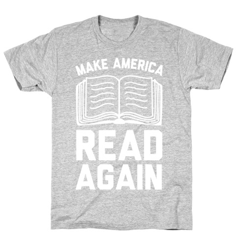 Make America Read Again Mens T-Shirt