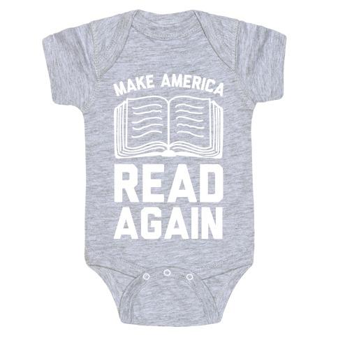 Make America Read Again Baby Onesy