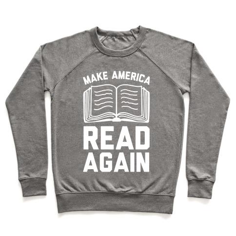 Make America Read Again Pullover