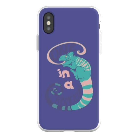 One in a Chameleon Phone Flexi-Case