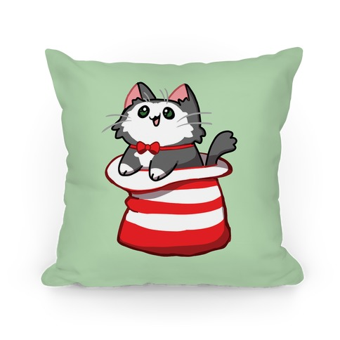 A Cat In The Hat Pillow