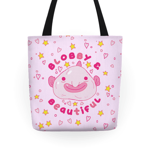 Blobby & Beautiful Tote