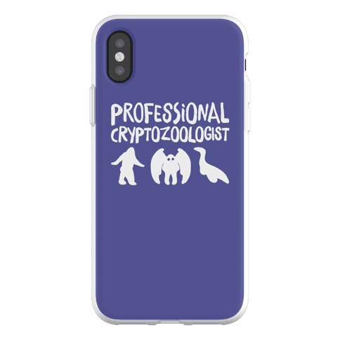 Professional Cryptozoologist Phone Flexi-Case