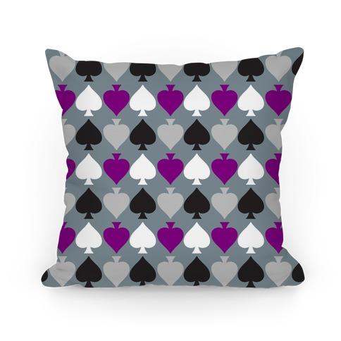 Ace Pride Pattern  Pillow