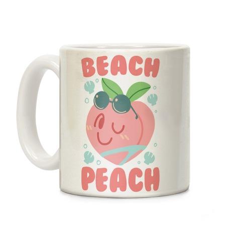 Beach Peach Coffee Mug