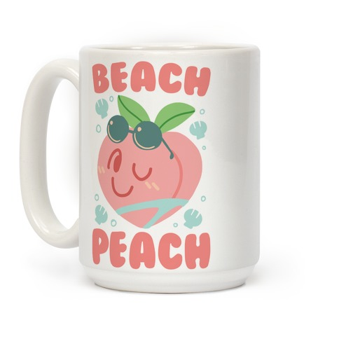 Beach Peach Coffee Mug