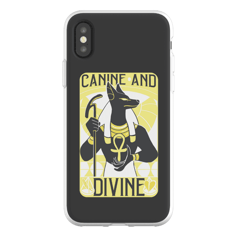 Canine and Divine Phone Flexi-Case