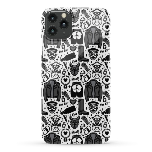 Leather Daddy Pattern Phone Case