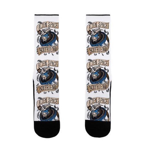 Garrus Space Boyfriend Sock