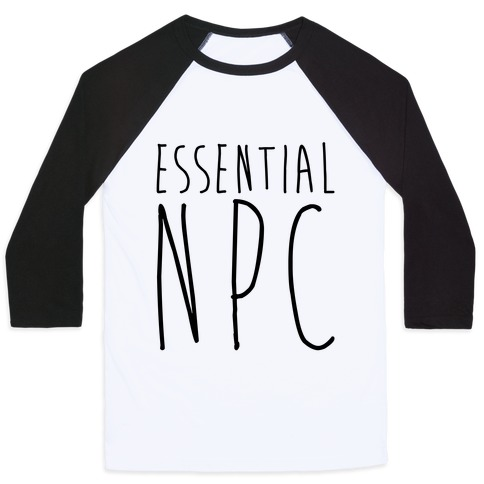 Essential NPC Baseball Tee
