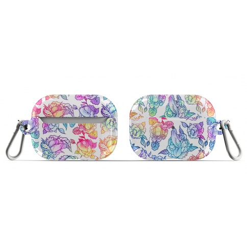 Floral Penis Rainbow AirPod Case