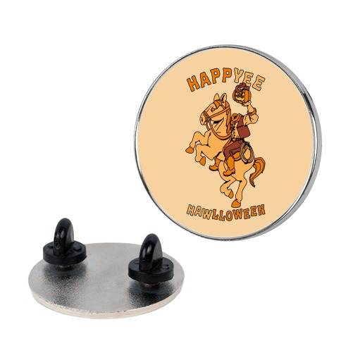 HappYEE HAWlloween Headless Cowboy Pin